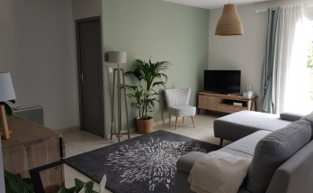 Rénovation de maison près de Cognac : nouvel espace salon